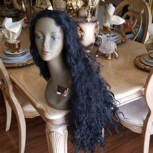 Used Curly Lace Front Wig